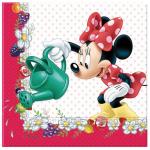 Kaliteli kullan at parti peçetesi. Minnie Mouse temalı diğer parti malzemeleriyle kombinleyebilirsiniz. Parti sofranız için şık ve pratiktir.