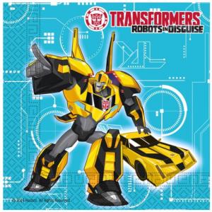 Kaliteli kullan at parti peçetesi. Transformers temalı diğer parti malzemeleriyle kombinleyebilirsiniz. Parti sofranız için şık ve pratiktir.