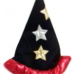 Büyücü şapkası. Halloween Cadılar Bayramı için bir pelerinle kombinleyerek kendi kostümünüzü kolayca oluşturun!