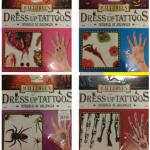 1 pakette 9 tip cadılar bayramı halloween konseptli çıkartma dövme yer alır. 5 farklı settir; stok durumuna göre mevcut ürün gönderilir. Tercihinizi info@partipaketi.com'a mesaj atabilirsiniz.
