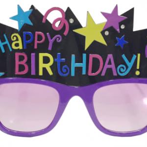 Doğumgünü parti gözlüğü