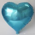 45cm ebatında folyo balon. Şişirilmeden teslim edilir.