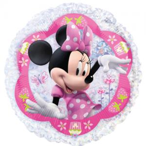Minnie Mouse temalı supershape folyo balon. Şişirilmeden teslim edilir. Helyum gazı doldurtarak uçan balon yaptırtabilirsiniz.