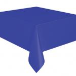 Kullan At koyu mavi renkte plastik masa örtüsü