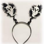 Keçe üzerine kaliteli baskılı maske ve maskeye uyumlu telli taç seti.