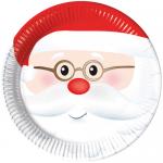 Yılbaşı partileriniz ve yeni lım kutlamalarınızda yiyeceklerinizi bu Noel Baba temalı şirin ve kaliteli tabaklarda ikram edin. Temanızı diğer kullan at parti malzemeleriyle tamamlamayı unutmayın!