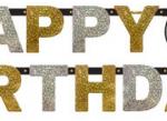 60 yaşa özel harf afiş. Altın