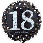 Işıltılı 18 Yaş Erkek Doğum Günü Partisi