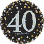 Işıltılı 40 Yaş Doğum Günü Partisi