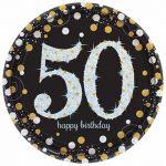 Işıltılı 50 Yaş Doğum Günü Partisi