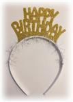 Özel kesim üzerine pırıltılı doğum günü tacı. Doğumgünü partilerinde dağıtılmak üzere parti aksesuarı olarak kullanabilirsiniz. Altın rengi de mevcuttur. Bu taçları kayanan dili