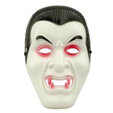 Plastik kabartma vampir maskesi. Yetişkin boydur.