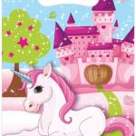 Unicorn temalı plastik mini hediye poşeti. Doğumgünü hediyeliklerini dağıtabilmek ve pinyata oyunu sonrasında minik misafirlerin şeker ve pinyata dolgularını toplayabilmesi için temanıza uygun hediye poşeti satın almayı unutmayın.