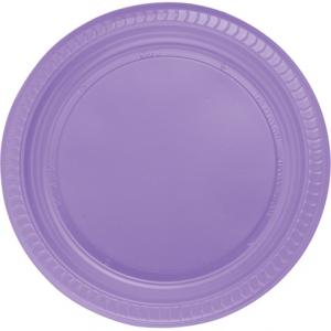 Lila renkli kaliteli plastikten kullan at parti tabağı