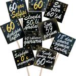 60 yaşa özel konuşma balonu seti. Fotoğraf çektirme çubukları doğum günü partilerinizin vazgeçilmez aksesuarıdır. Misafirlerinize dağıtarak fotoğrafların daha eğlenceli çıkmasına yardımcı olun!