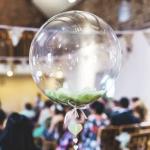 şeffaf küre folyo balon