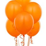 turuncu parti balonu