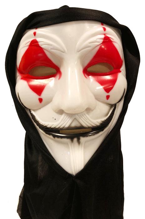 Joker Maske Parti Malzemeleri Parti Süsleri Doğum Günü