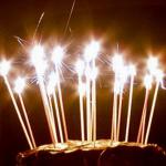 doğum günü pasta mumu