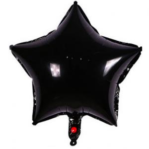 Yıldız Folyo Balon Siyah