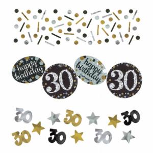 Işıltılı 30 Yaş Partisi Konfeti