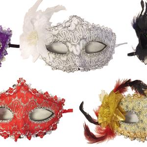 Dekorlu Parti Maskesi