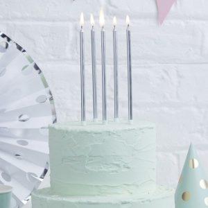 doğum günü pastası mumu