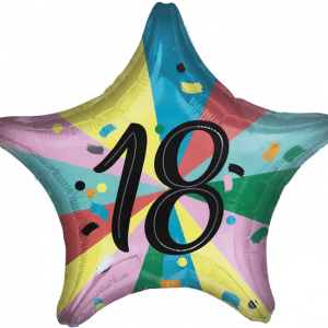 18 Yaş Partisi Uçan Balon