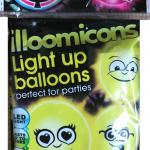 emoji ışıklı parti balonları