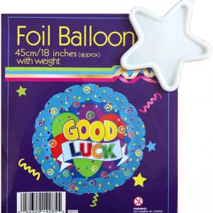 İyi Şanslar Folyo Balon ve Ağırlık 45cm