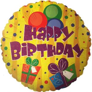 Happy Birthday Folyo Uçan Balon
