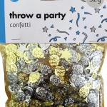 balonlar ve yıldızlar konfeti