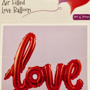 Love Folyo Balon banner