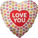 Seni Seviyorum Kalp Uçan Balon