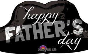 Happy Fathers Day Bıyık Supershape Folyo Balon 78cm