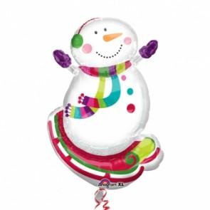 kardan adam folyo balon