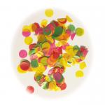 Renkli Kağıt Puanlar Şeffaf Balon Dolgusu Konfeti