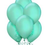 Su Yeşili Metalik Balon 15li
