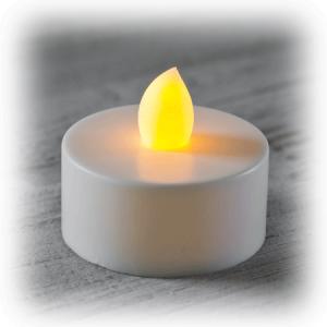 Led Sarı Işık Tealight mum