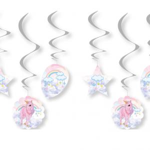 unicorn doğum günü süsleri