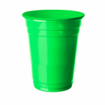 yeşil Plastik Bardak 8li